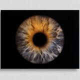 irisfotografie einzel acryl-glas